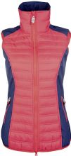 HKM PRO TEAM COUNTY GILET - RED / NAVY - RRP £46.99